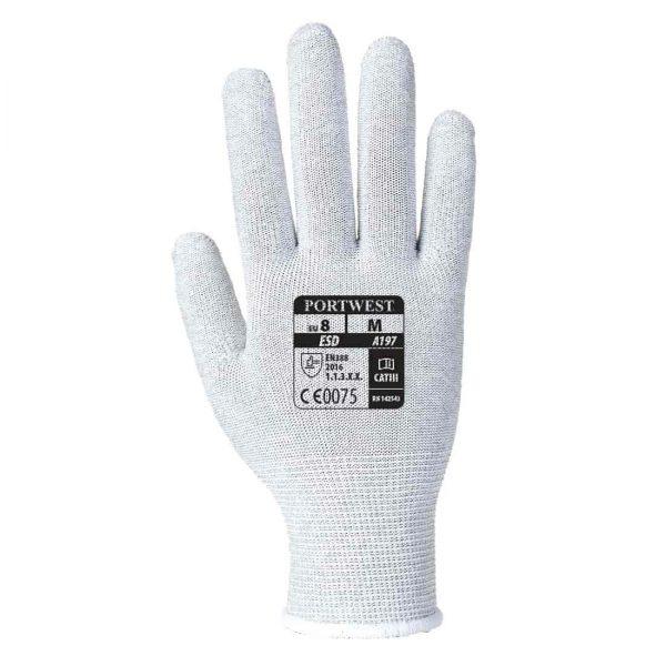 Rękawiczki Antystatyczne, ESD, bez nakropień