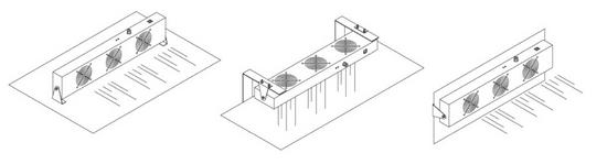 Jonizator stanowiskowy, dwu wiatrakowy TS-2452-60JN