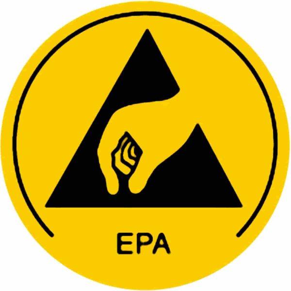 Naklejka dla strefy EPA