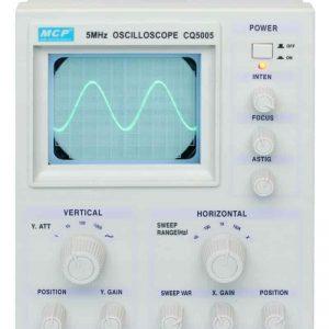 CQ5005 Oscyloskop analogowy 5MHz / 1kanał MCP