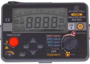 KEW3022 Miernik rezystancji izolacji 50V-500V Kyoritsu