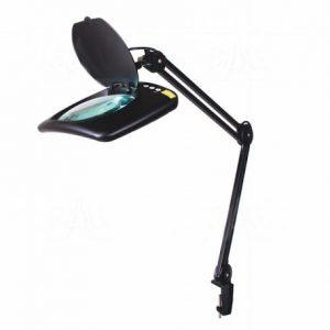 Lampa warsztatowa ESD LED SMD z lupą (190x157mm) 8069D2LED-A 5D 2-10W