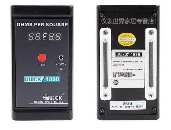 Quick 499D miernik rezystancji powierzchniowej (ESD)