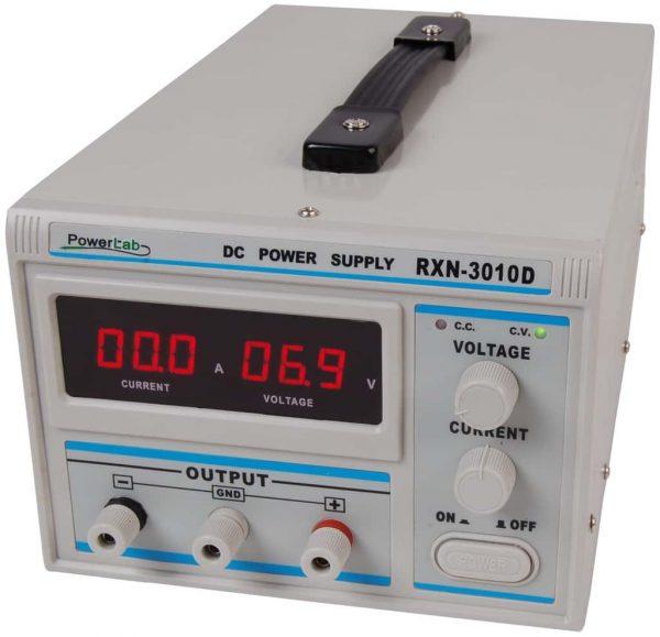 Zasilacz laboratoryjny PowerLab 3010D 30V/10A LED