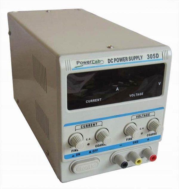 Zasilacz laboratoryjny PowerLab 305D 30V/5A LED