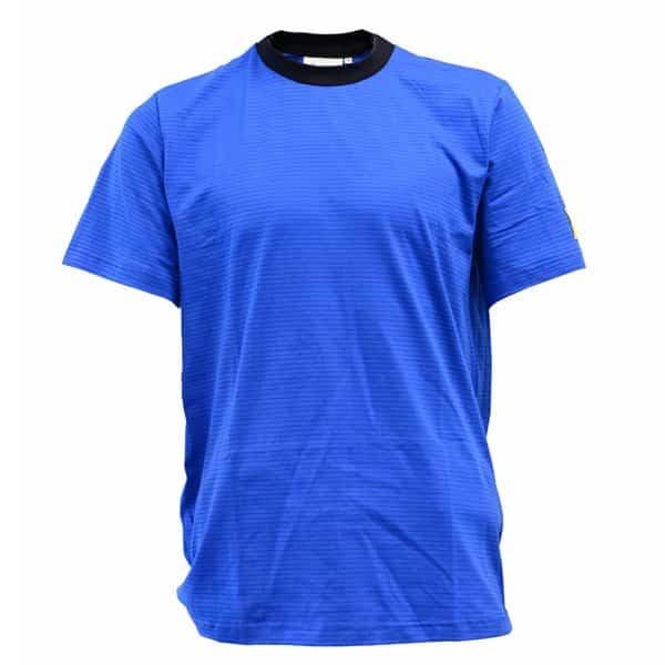 koszulka t-shirt niebieska esd antystatyczna