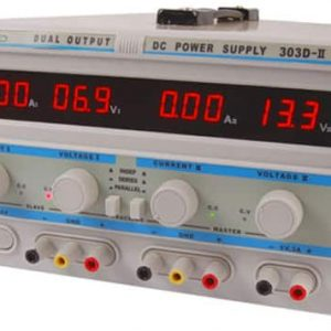 Zasilacz lab 303D-II 2x30V/3A 5V/3A DC LED PowerLab