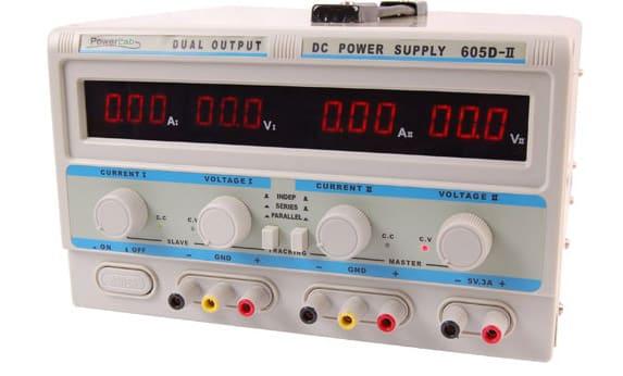 Zasilacz lab 605D-II 2x60V/5A,5V/3A DC LED PowerLab